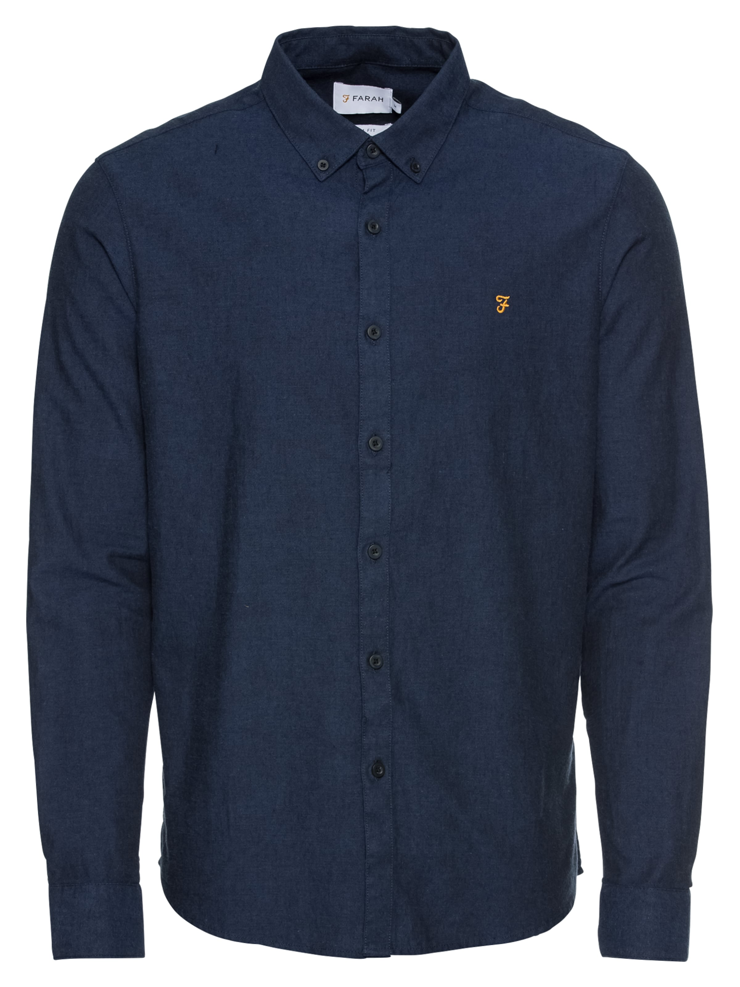 Hemd 'steen Ls 100Cotton In Blau Farah Gsm' 140 SMqpVUz