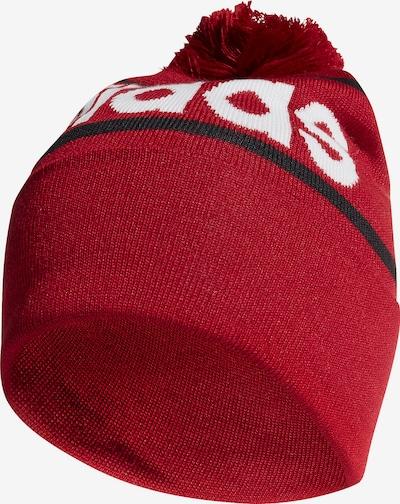 ADIDAS PERFORMANCE Mütze in rot / schwarz / weiß, Produktansicht