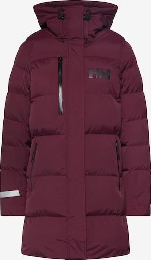 HELLY HANSEN Manteau d'hiver 'W ADORE PUFFY' en pourpre, Vue avec produit