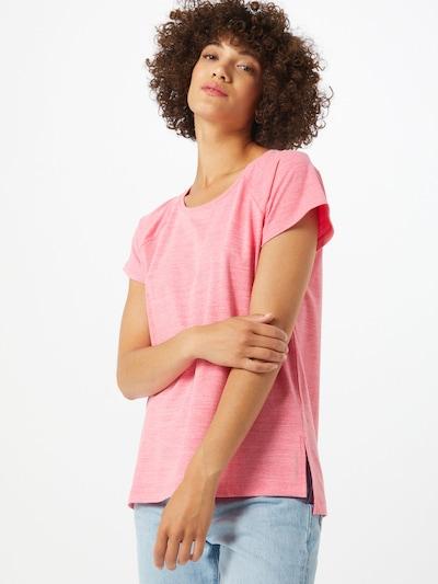 ESPRIT SPORT Functioneel shirt 'Edry' in de kleur Rood gemêleerd: Vooraanzicht