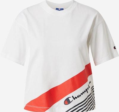 Champion Authentic Athletic Apparel T-shirt 'Crewneck T-Shirt' en blanc, Vue avec produit