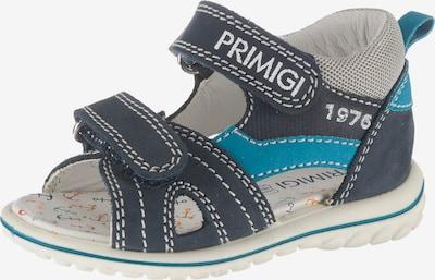 PRIMIGI Sandalen in marine / royalblau / weiß, Produktansicht