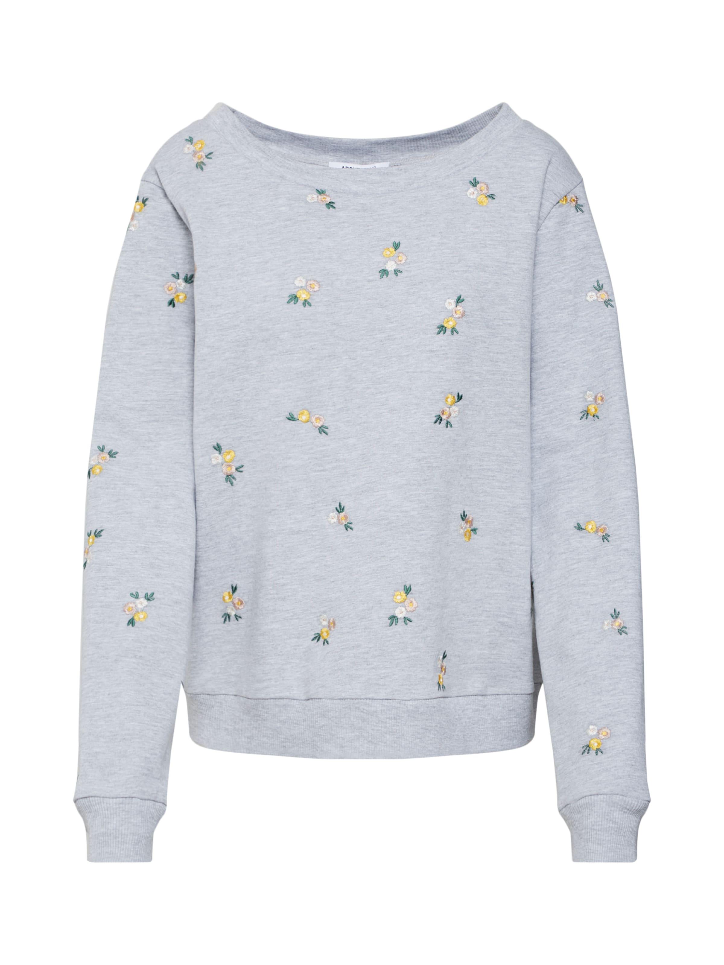 In Sweatshirt Sweatshirt In 'luna' Grijs Grijs In Sweatshirt 'luna' 'luna' Grijs m8n0Nw