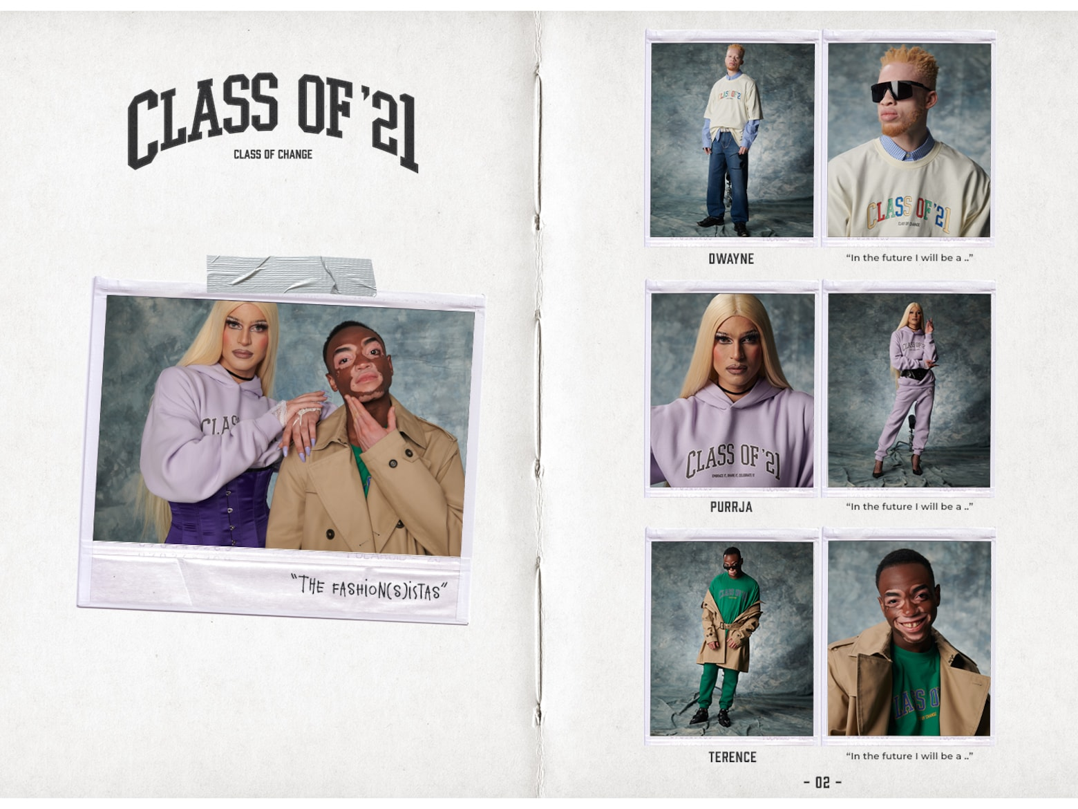 ABOUT YOU LIMITED Class of '21 - The New Faces of Fashion