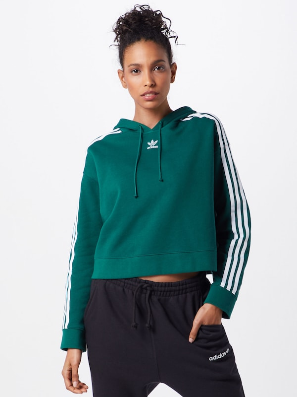 Originals En VertBlanc Adidas Sweat shirt zMVqSUp