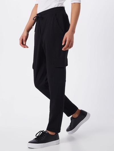 OPUS Broek 'Melisa SP' in de kleur Zwart, Modelweergave