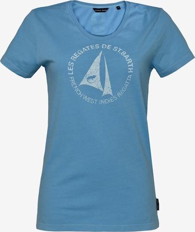 CODE-ZERO T-Shirt 'St. Barth' in himmelblau / weiß, Produktansicht