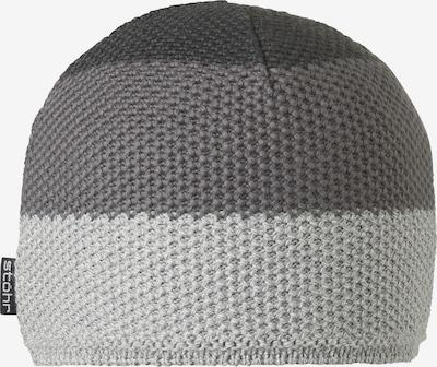 STÖHR Mütze 'Vilt' in grau, Produktansicht