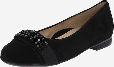 ARA Ballerina 'Sardinia' in schwarz, Produktansicht
