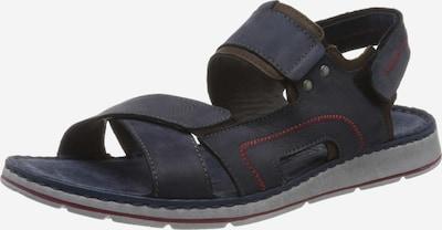 ROHDE Sandale in blau: Frontalansicht