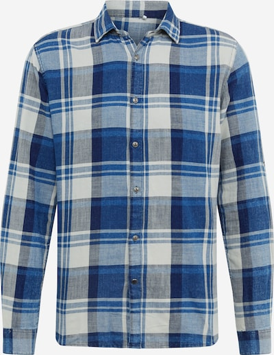 Only & Sons Hemd 'SAY LIFE CHECK FS 6051' in blau / hellgrau, Produktansicht