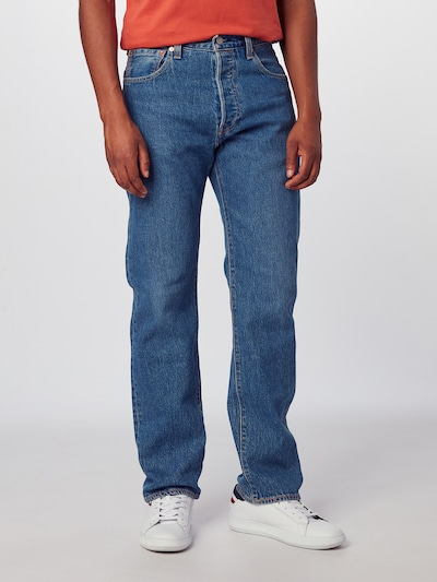 LEVI'S Jeans '501® '93 STRAIGHT' in blue denim: Frontalansicht