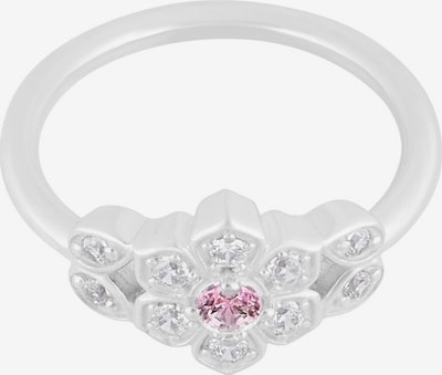 ID Fine Magnolien Ring in silber: Frontalansicht