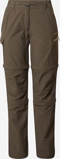 ICEPEAK Pantalon de sport en kaki, Vue avec produit