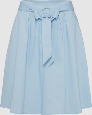 mint&berry Rok 'A-skirt with ring buckle' in Lichtblauw