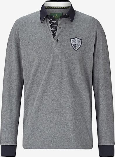 Charles Colby Sweatshirt ' Connor ' in de kleur Nachtblauw / Grijs gemêleerd, Productweergave