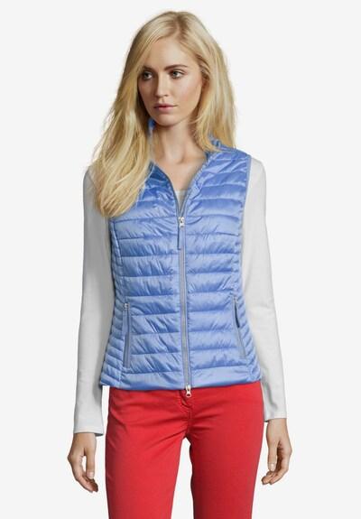 Betty Barclay Steppweste in blau, Modelansicht