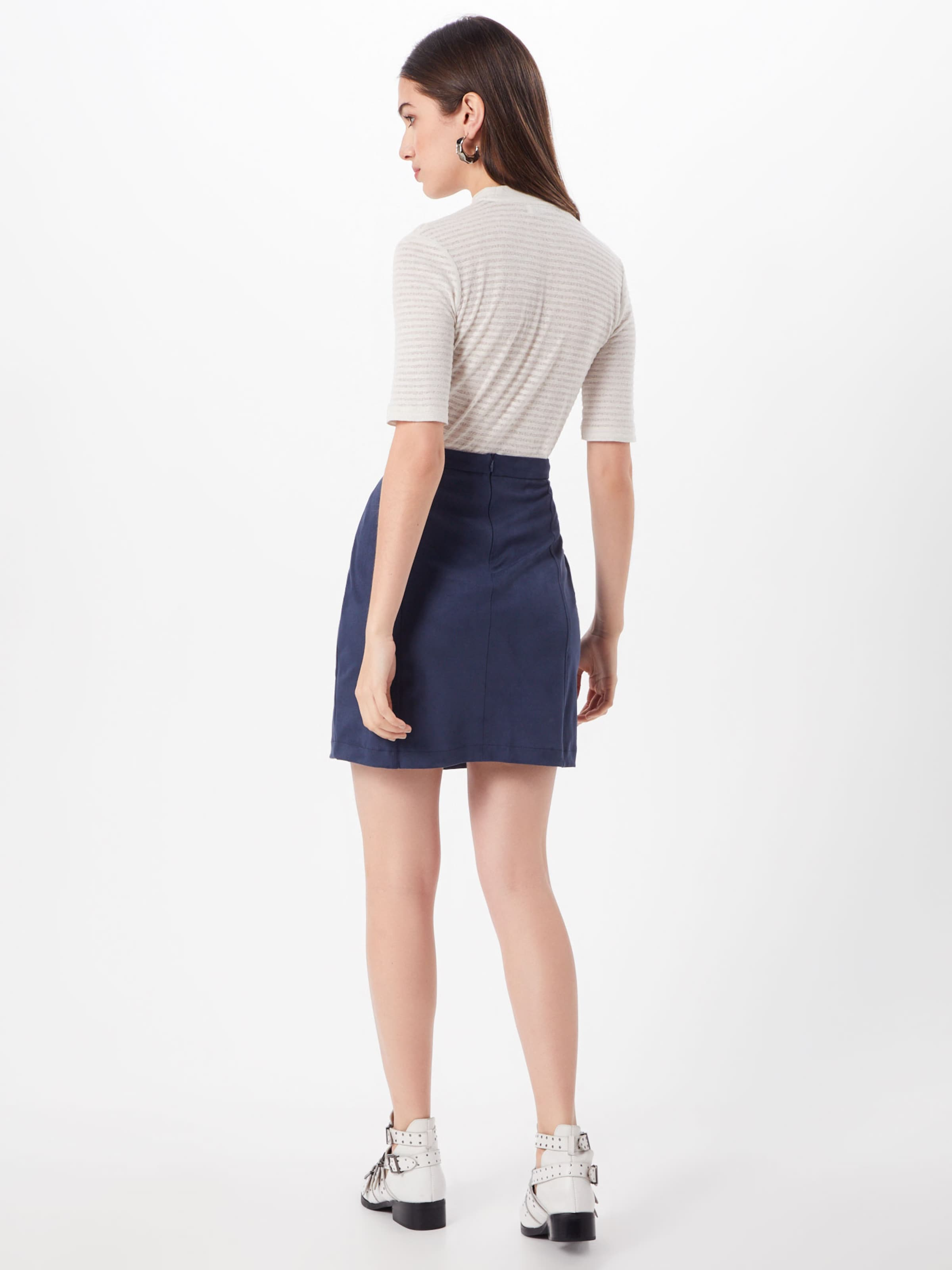 Skirt' Rock Navy In Suede Esprit 'dfake QdWrCExoeB