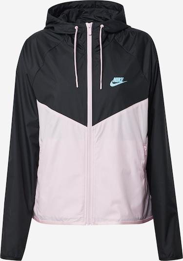 Nike Sportswear Jacke in blau / pink / schwarz, Produktansicht