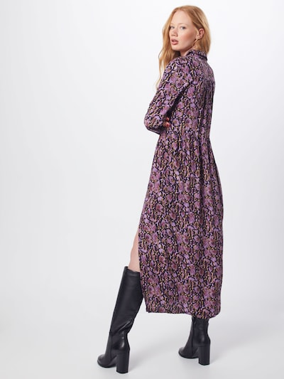 Palaidinės tipo suknelė 'Solero' iš modström , spalva - purpurinė: Vaizdas iš galinės pusės