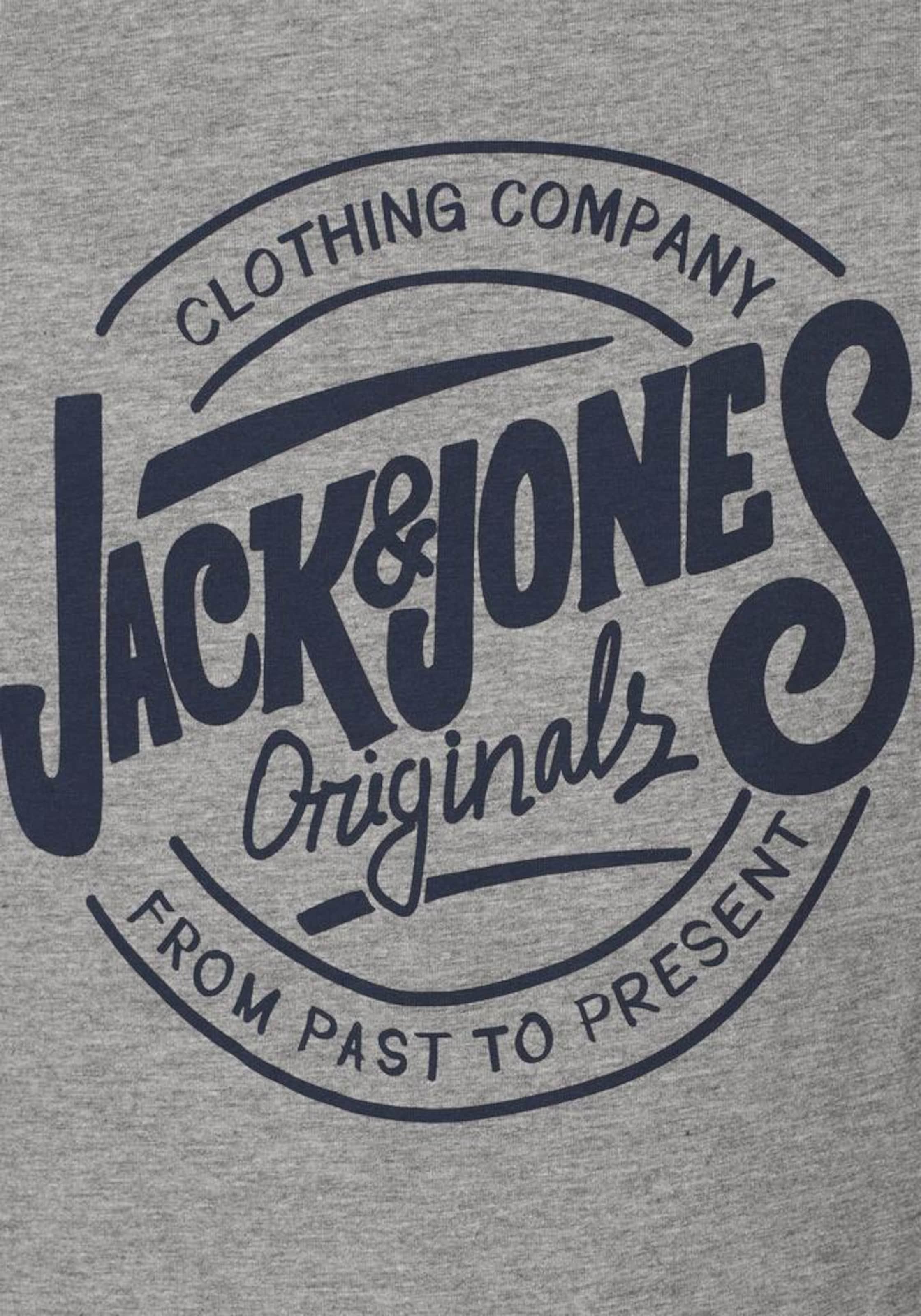 JACK & JONES T-Shirt 'JORRAW TEE SS CREW NECK' Günstig Kaufen Finden Große ldHDB