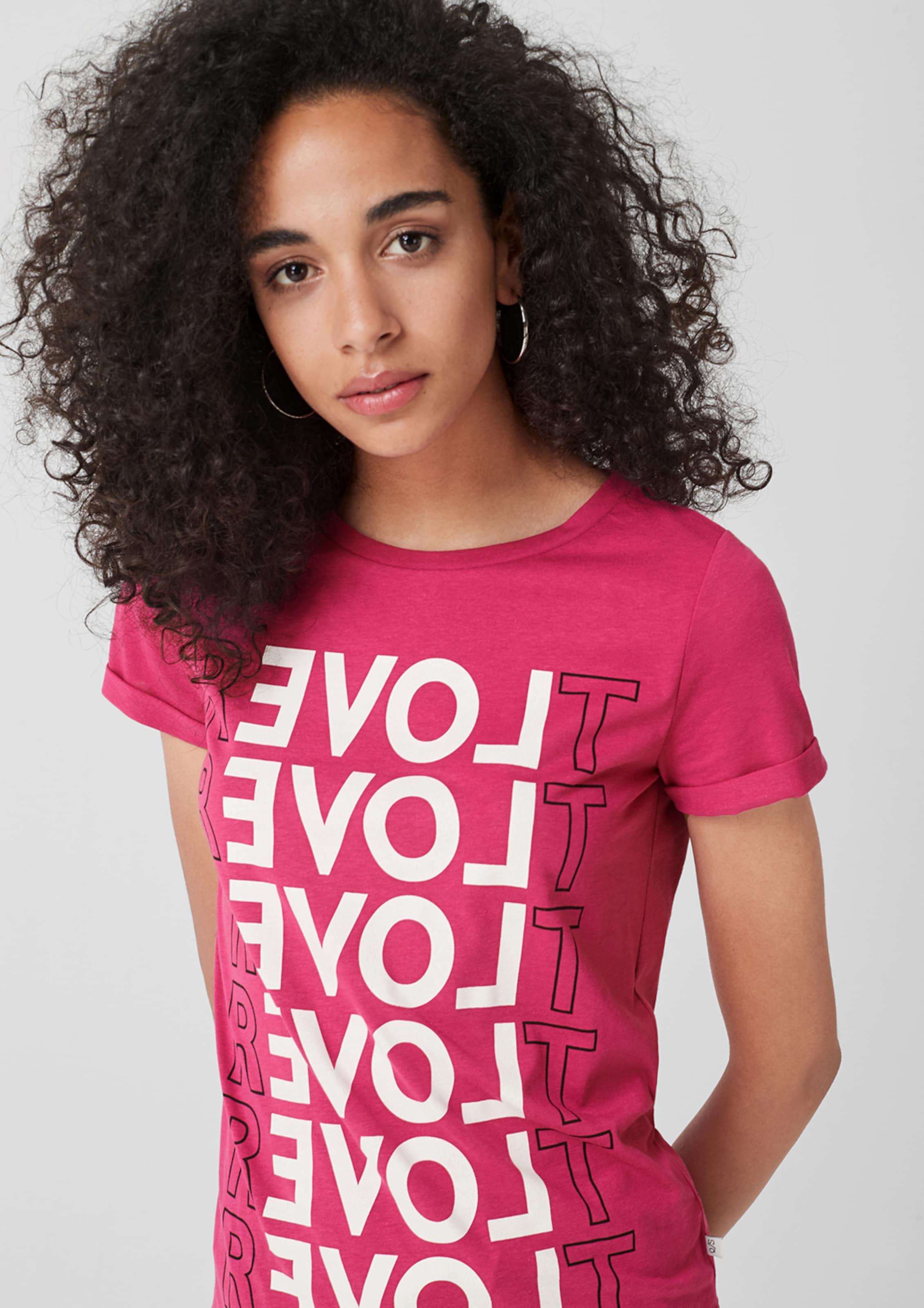 T In By PinkSchwarz Designed shirt s Weiß Q F31cuKJTl