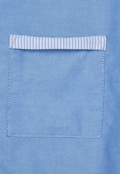 CECIL Hemdbluse in blau: Frontalansicht