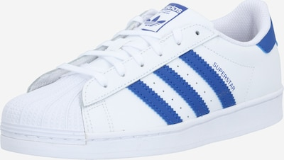 ADIDAS ORIGINALS Sneaker 'Superstar' in blau / weiß, Produktansicht