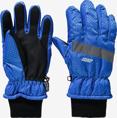 MAXIMO Fingerhandschuhe in blau / schwarz, Produktansicht