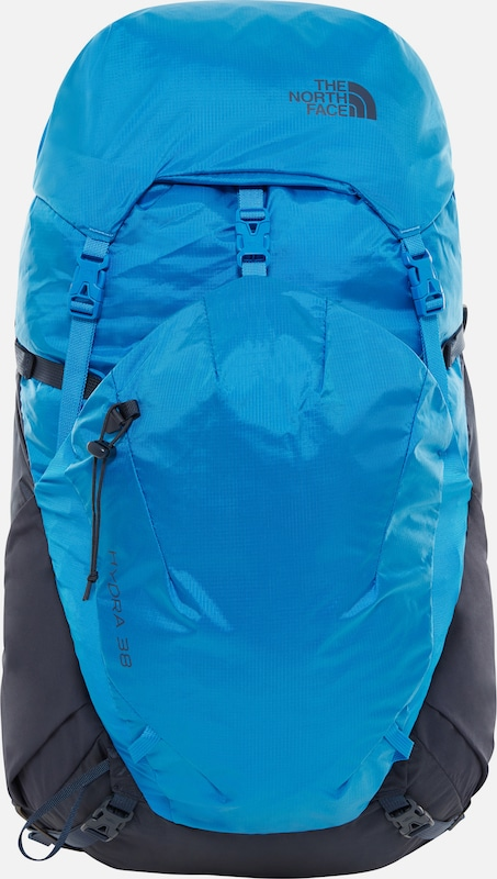 THE NORTH FACE Rucksack 'Hydra' in kobaltblau / himmelblau: Frontalansicht