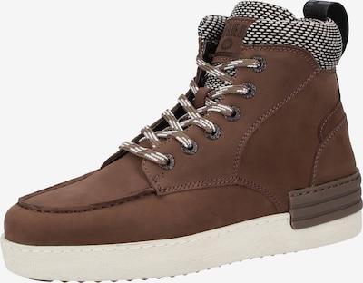 REPLAY Sneaker in braun / schwarz / weiß, Produktansicht