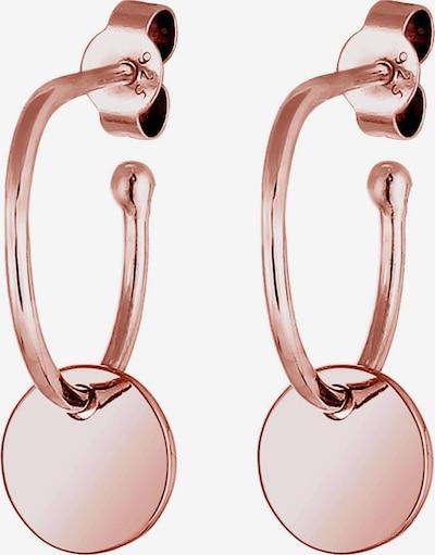 ELLI Earrings 'Creole' in Rose gold, Item view