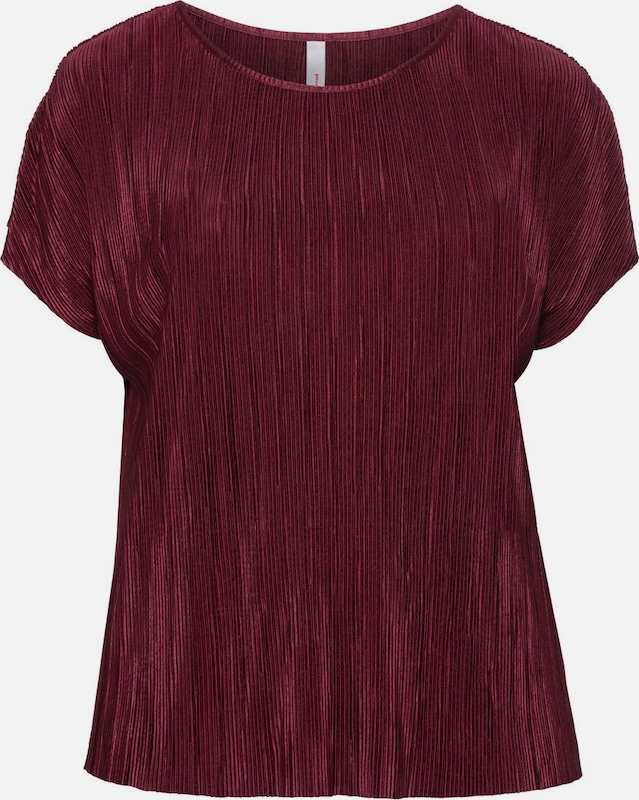 SHEEGO T-Shirt in merlot: Frontalansicht