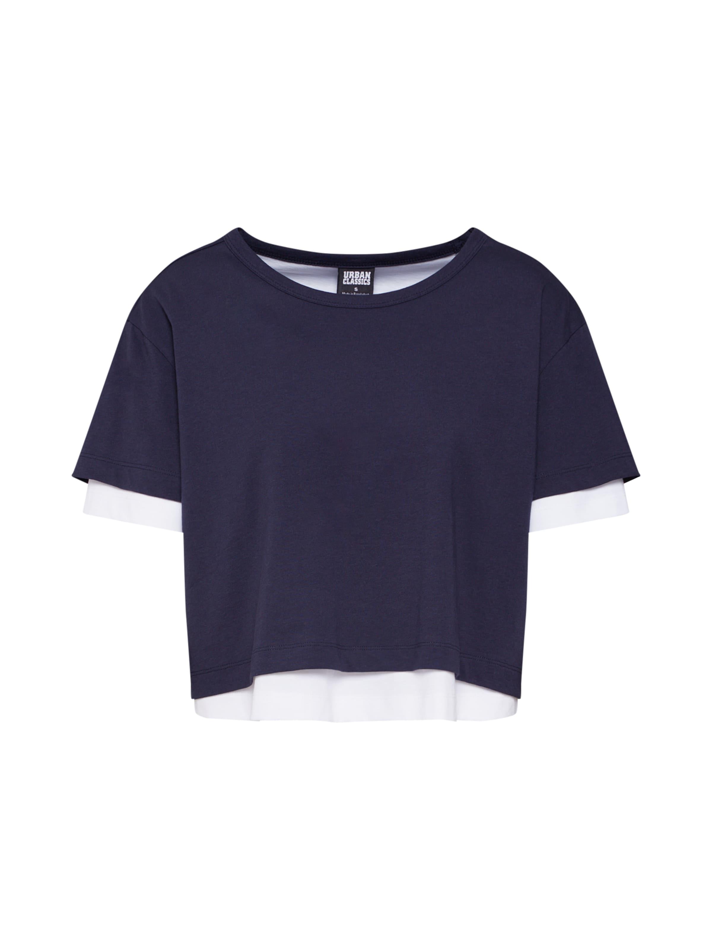 Weiß Urban Classics Shirt In BlauDunkelblau SzMpUV