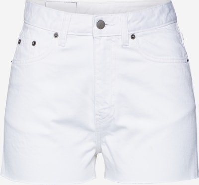 Dr. Denim Shorts 'Skye' in white denim, Produktansicht