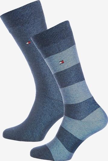 TOMMY HILFIGER Socken in blau / hellblau, Produktansicht