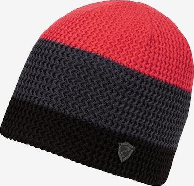 ZIENER Mütze in rot / schwarz, Produktansicht