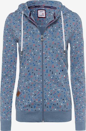 KangaROOS Zip-Up Hoodie in Light blue / Mixed colors, Item view