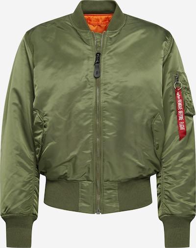 ALPHA INDUSTRIES Prijelazna jakna u maslinasta / tamno narančasta, Pregled proizvoda