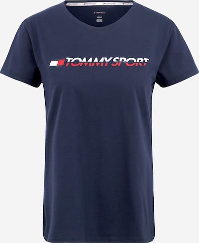 Tommy Sport T-Shirt in navy / rot / weiß, Produktansicht