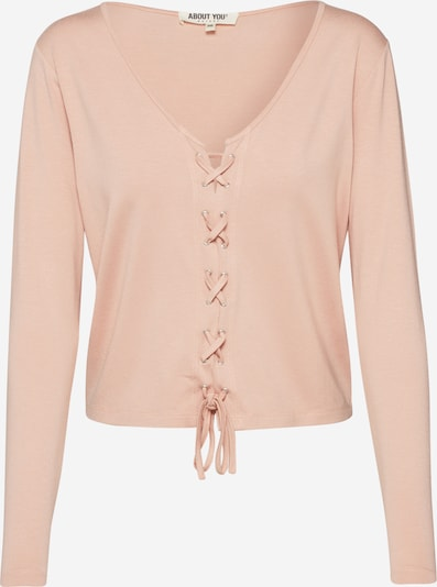 ABOUT YOU Shirt 'Nele' in nude / rosa, Produktansicht