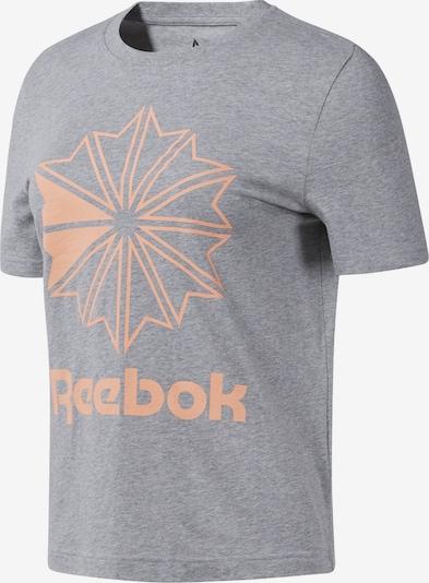 Reebok Classic T-Shirt ' Classics Big Logo Graphic  ' in beige / grau, Produktansicht