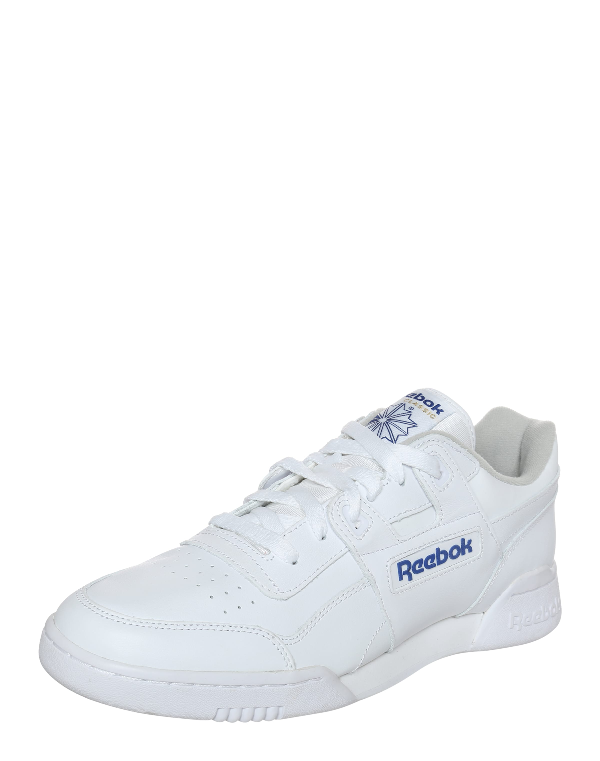 Reebok Classic Turnschuhe 'Workout Plus' in weiß