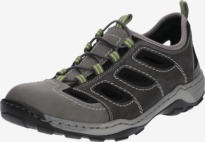 RIEKER Sneaker in anthrazit / stone / schwarz, Produktansicht
