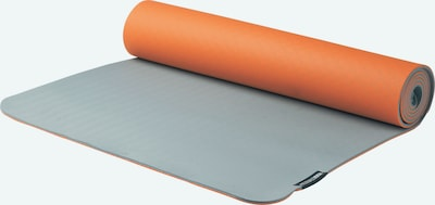 YOGISTAR.COM Yogamatte in grau / mandarine, Produktansicht