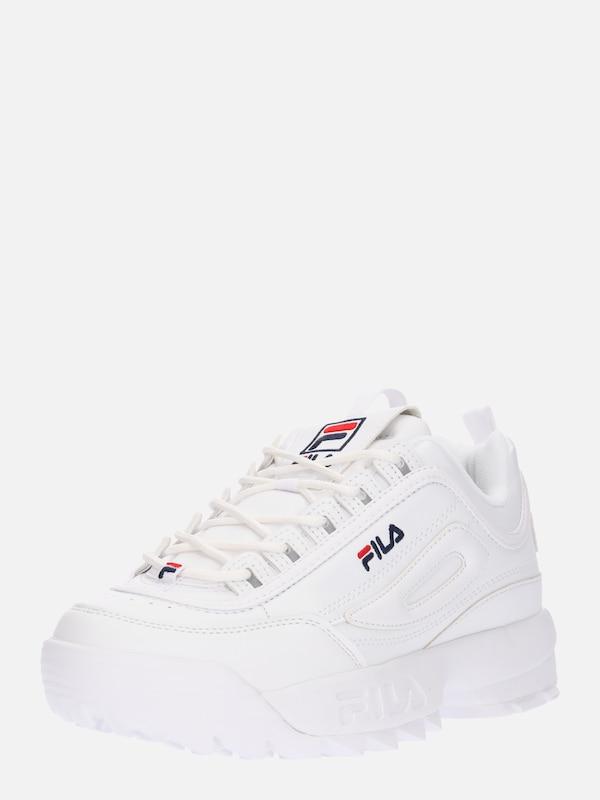 In Nachtblau Rot 'disruptor' Fila Weiß Sneaker KlF1JTc3