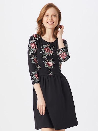 ONLY Kleid 'ONLAMBER AMY' in rosa / schwarz, Modelansicht