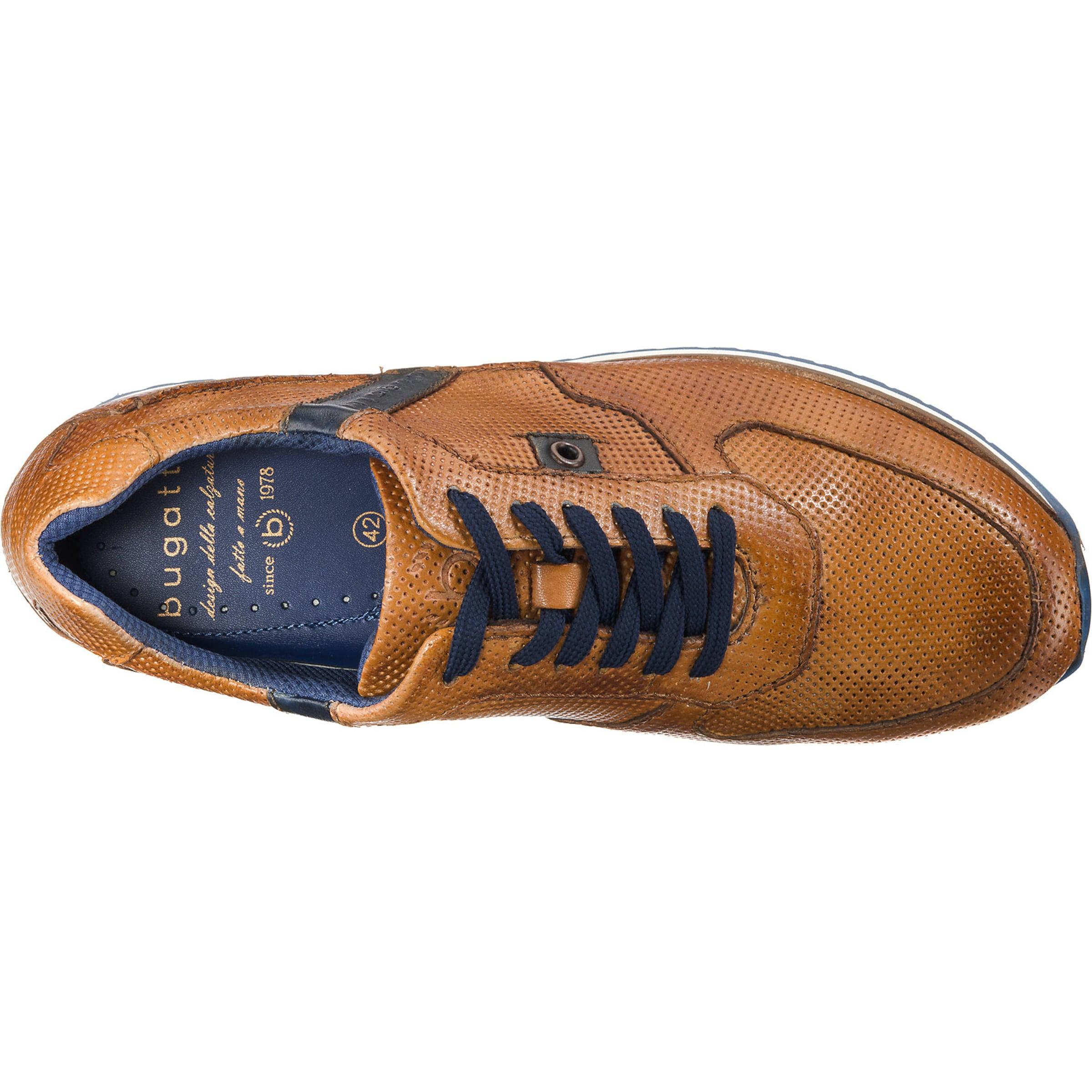 'lanfranco' 'lanfranco' Bugatti In NavyCognac Bugatti Sneaker Sneaker 0wPknO