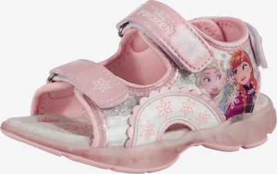 DISNEY Sandalen 'Die Eiskönigin' in rosa / silber, Produktansicht