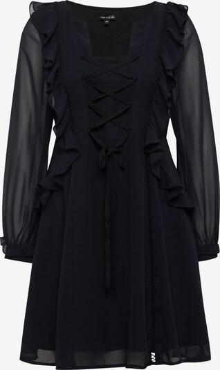 Tom Tailor Contemporary Kleider & Jumpsuits Kleid mit Rüschen und Schnürung in schwarz, Produktansicht